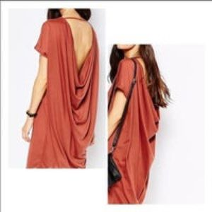 NWT Michelle by Comune Streater Backless Dress